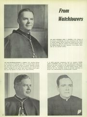 Page 14, 1956 Edition, Central Catholic High School - Towers Yearbook (Pittsburgh, PA) online yearbook collection