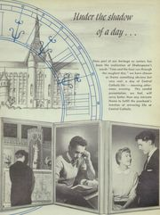 Page 5, 1956 Edition, Central Catholic High School - Towers Yearbook (Pittsburgh, PA) online yearbook collection