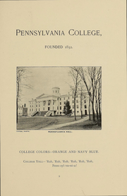 Page 11, 1892 Edition, Gettysburg College - Spectrum Yearbook (Gettysburg, PA) online yearbook collection