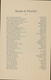 Page 12, 1892 Edition, Gettysburg College - Spectrum Yearbook (Gettysburg, PA) online yearbook collection