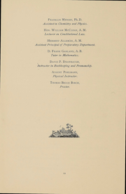 Page 14, 1892 Edition, Gettysburg College - Spectrum Yearbook (Gettysburg, PA) online yearbook collection