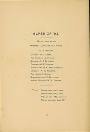 Page 17, 1894 Edition, Gettysburg College - Spectrum Yearbook (Gettysburg, PA) online yearbook collection