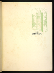 Page 7, 1931 Edition, Gettysburg College - Spectrum Yearbook (Gettysburg, PA) online yearbook collection