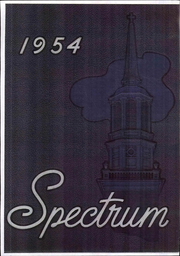 Page 1, 1954 Edition, Gettysburg College - Spectrum Yearbook (Gettysburg, PA) online yearbook collection