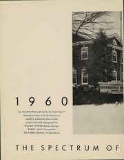 Page 4, 1960 Edition, Gettysburg College - Spectrum Yearbook (Gettysburg, PA) online yearbook collection