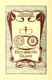 Page 116, 1912 Edition, Westminster College - Argo Yearbook (New Wilmington, PA) online yearbook collection