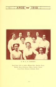 Page 117, 1912 Edition, Westminster College - Argo Yearbook (New Wilmington, PA) online yearbook collection