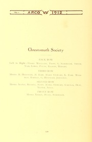 Page 124, 1912 Edition, Westminster College - Argo Yearbook (New Wilmington, PA) online yearbook collection