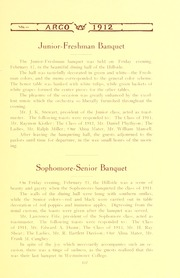 Page 141, 1912 Edition, Westminster College - Argo Yearbook (New Wilmington, PA) online yearbook collection