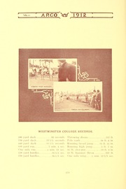 Page 182, 1912 Edition, Westminster College - Argo Yearbook (New Wilmington, PA) online yearbook collection