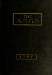Page 1, 1922 Edition, Westminster College - Argo Yearbook (New Wilmington, PA) online yearbook collection