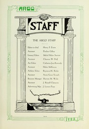 Page 13, 1922 Edition, Westminster College - Argo Yearbook (New Wilmington, PA) online yearbook collection