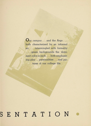 Page 11, 1939 Edition, Westminster College - Argo Yearbook (New Wilmington, PA) online yearbook collection