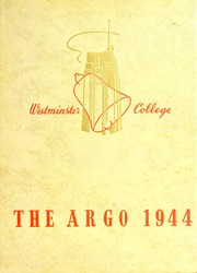 Page 1, 1944 Edition, Westminster College - Argo Yearbook (New Wilmington, PA) online yearbook collection