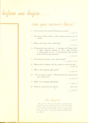 Page 5, 1944 Edition, Westminster College - Argo Yearbook (New Wilmington, PA) online yearbook collection