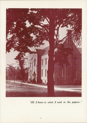 Page 15, 1956 Edition, Westminster College - Argo Yearbook (New Wilmington, PA) online yearbook collection