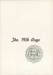 Page 5, 1956 Edition, Westminster College - Argo Yearbook (New Wilmington, PA) online yearbook collection