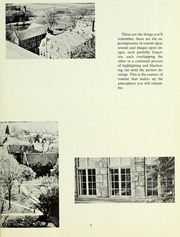 Page 11, 1961 Edition, Westminster College - Argo Yearbook (New Wilmington, PA) online yearbook collection