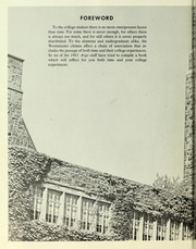 Page 6, 1961 Edition, Westminster College - Argo Yearbook (New Wilmington, PA) online yearbook collection