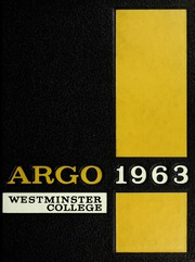 Page 1, 1963 Edition, Westminster College - Argo Yearbook (New Wilmington, PA) online yearbook collection