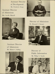 Page 12, 1966 Edition, Westminster College - Argo Yearbook (New Wilmington, PA) online yearbook collection