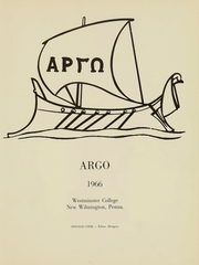 Page 2, 1966 Edition, Westminster College - Argo Yearbook (New Wilmington, PA) online yearbook collection
