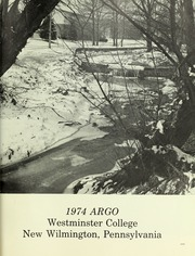 Page 5, 1974 Edition, Westminster College - Argo Yearbook (New Wilmington, PA) online yearbook collection