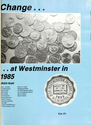 Page 5, 1985 Edition, Westminster College - Argo Yearbook (New Wilmington, PA) online yearbook collection