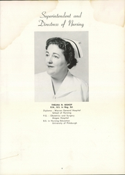 Page 13, 1955 Edition, Philipsburg Hospital School of Nursing - Reflections Yearbook (Philipsburg, PA) online yearbook collection