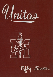 1957 Edition, Moravian Preparatory School - Unitas Yearbook (Bethlehem, PA)