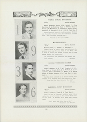 Page 16, 1936 Edition, Clarks Summit Clarks Green High School - Cliffs Yearbook (Clarks Summit, PA) online yearbook collection