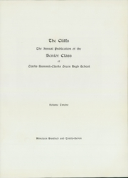 Page 7, 1937 Edition, Clarks Summit Clarks Green High School - Cliffs Yearbook (Clarks Summit, PA) online yearbook collection