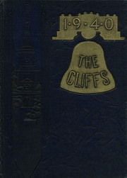1940 Edition, Clarks Summit Clarks Green High School - Cliffs Yearbook (Clarks Summit, PA)
