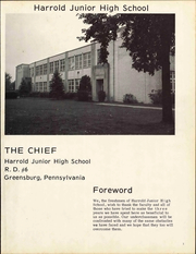 Page 5, 1969 Edition, Harrold Junior High School - Herald Yearbook (Greensburg, PA) online yearbook collection