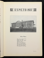 Page 11, 1922 Edition, Cedar Crest College - Espejo Yearbook (Allentown, PA) online yearbook collection