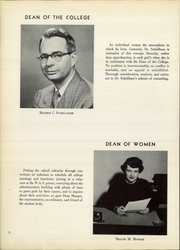 Page 14, 1957 Edition, Cedar Crest College - Espejo Yearbook (Allentown, PA) online yearbook collection