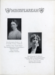 Page 14, 1916 Edition, East Stroudsburg University - Stroud Yearbook (East Stroudsburg, PA) online yearbook collection