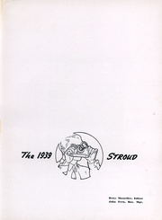 Page 2, 1939 Edition, East Stroudsburg University - Stroud Yearbook (East Stroudsburg, PA) online yearbook collection