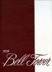 Page 1, 1959 Edition, St Francis University - Bell Tower Yearbook (Loretto, PA) online yearbook collection