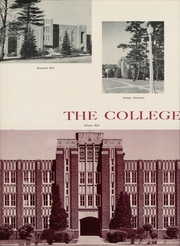 Page 12, 1959 Edition, St Francis University - Bell Tower Yearbook (Loretto, PA) online yearbook collection