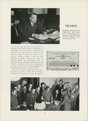 Page 12, 1947 Edition, University of Pennsylvania Evening School of Accounts and Finance - Closing Entries Yearbook (Philadelphia, PA) online yearbook collection