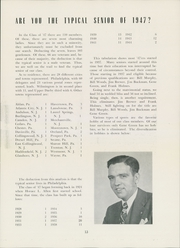 Page 17, 1947 Edition, University of Pennsylvania Evening School of Accounts and Finance - Closing Entries Yearbook (Philadelphia, PA) online yearbook collection