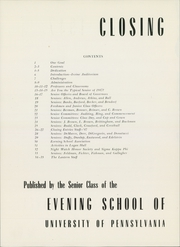 Page 6, 1947 Edition, University of Pennsylvania Evening School of Accounts and Finance - Closing Entries Yearbook (Philadelphia, PA) online yearbook collection