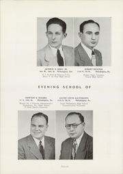 University of Pennsylvania Evening School of Accounts and Finance - Closing Entries Yearbook (Philadelphia, PA) online yearbook collection, 1948 Edition, Page 60