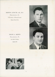 Page 13, 1940 Edition, University of Pennsylvania School of Veterinary Medicine - Scalpel Yearbook (Philadelphia, PA) online yearbook collection