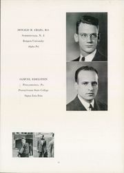 Page 17, 1940 Edition, University of Pennsylvania School of Veterinary Medicine - Scalpel Yearbook (Philadelphia, PA) online yearbook collection
