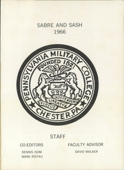Page 5, 1966 Edition, Widener University - Pioneer Yearbook (Chester, PA) online yearbook collection
