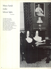 Page 10, 1960 Edition, Immaculata University - Gleaner Yearbook (Immaculata, PA) online yearbook collection