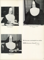 Page 15, 1961 Edition, Immaculata University - Gleaner Yearbook (Immaculata, PA) online yearbook collection