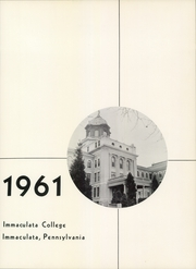 Page 9, 1961 Edition, Immaculata University - Gleaner Yearbook (Immaculata, PA) online yearbook collection